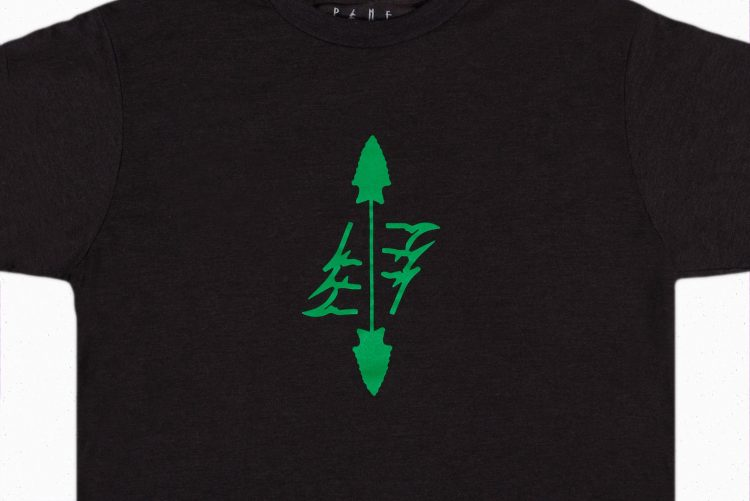 The Native Tee Zoomed