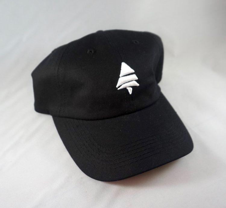 Black Pine Dad Hat Angled